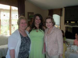 Me, Anne Marie and her Mom, Janice