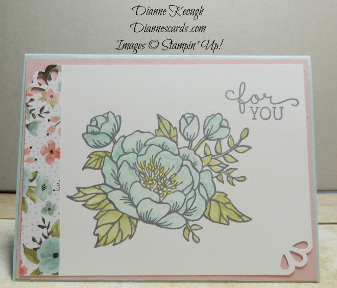 Birthday Blooms card