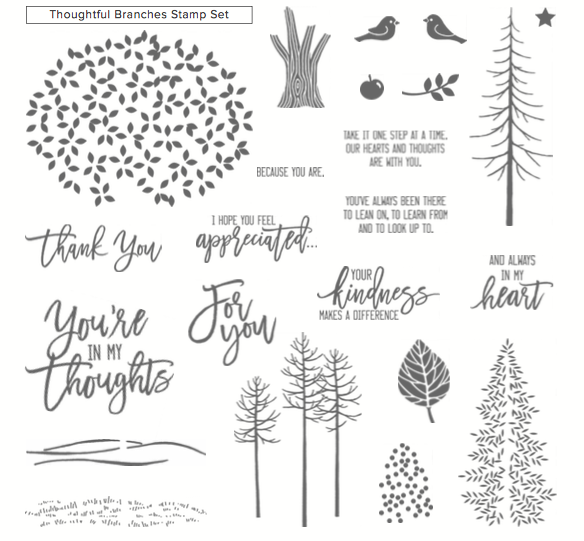 Images Thoughtful Branches stamp set