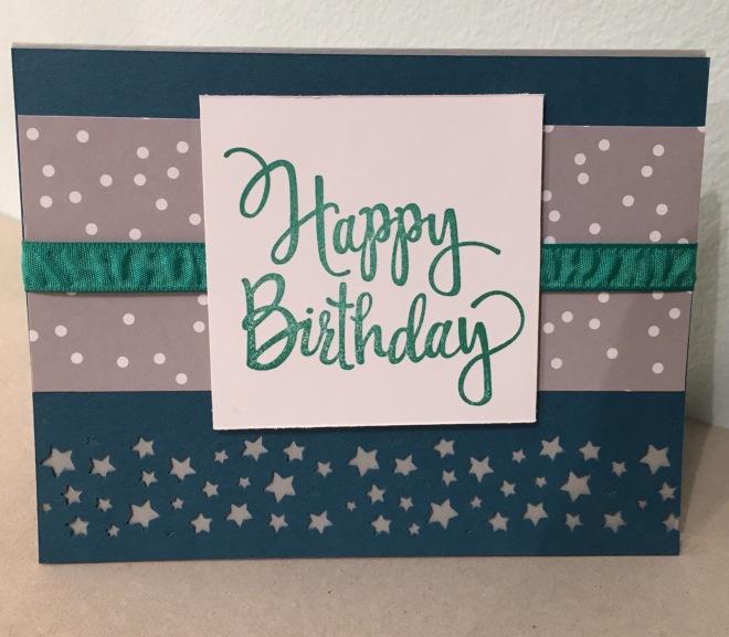 Stylized Birthday, Diannescards.com