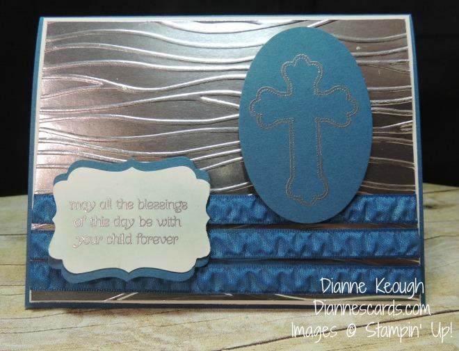 Luca Baptism card