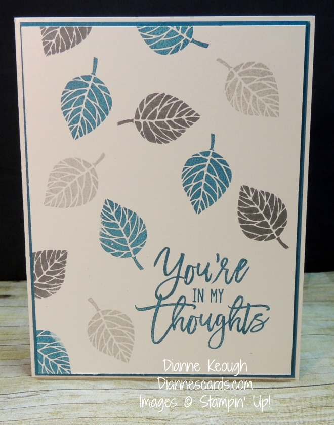 Thoughtful branches stamp set. Diannescards.com